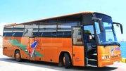 Аренда автобуса для больших групп,  пассажирские перевозки.