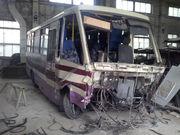 Оценка ущерба и ремонт автобусов после ДТП !