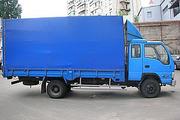 Грузоперевозки автомобилем тент 6т,  42м3 с гидробортом по Харькову