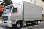 Новый грузовой тентованный автомобиль МАЗ-5340Е9-520-031
